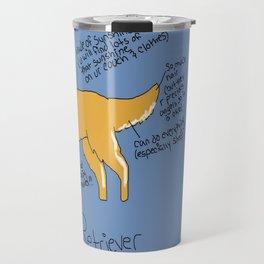 Golden Retreiver Travel Mug