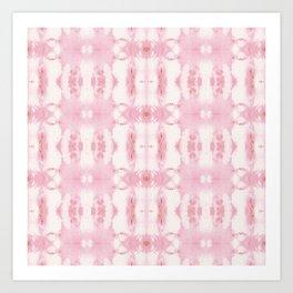 Tie Dye Roses Art Print