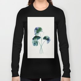 Water lily leaves Long Sleeve T-shirt