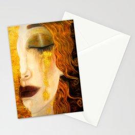 Freya's Golden Tears Viking Lore Stationery Cards