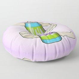 Sleep is for the Weak Floor Pillow