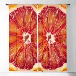Blood Grapefruit Blackout Curtain