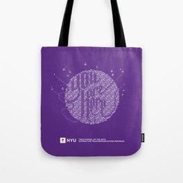 YOU ARE HERE [Funfetti Violet] Tote Bag