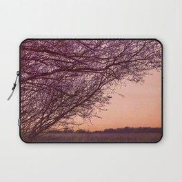 Purple Tree, Coral Orange Sky Laptop Sleeve