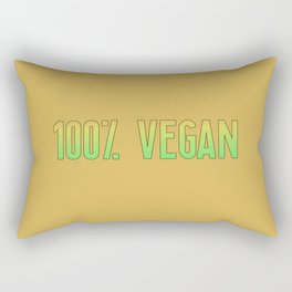 100% Vegan | Gift Idea Rectangular Pillow