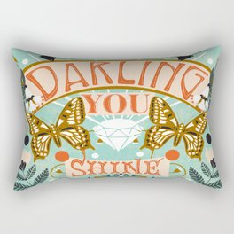 Darling You Shine Rectangular Pillow