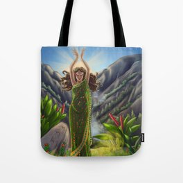 Lemurian Goddess of Earth Tote Bag