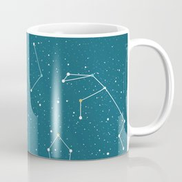 Starlight night constellations Coffee Mug