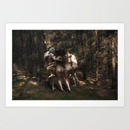 The kids Are all Wild Art Print