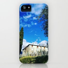 Just An Ordinary Sunny Day In Tuscany iPhone Case