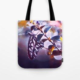 Silver Wings Tote Bag