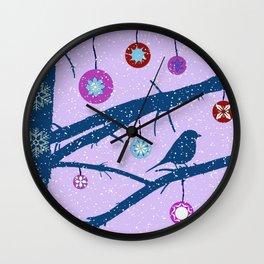 Mandala spinning top Wall Clock