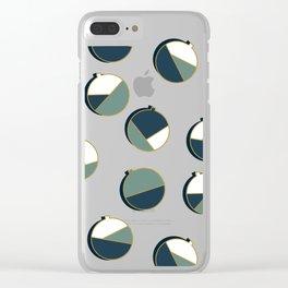 Xmas Balls Pattern #society6 #decor #xmas Clear iPhone Case