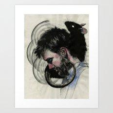 Isaac Brock Art Print