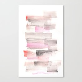 [161216] 18. Slices|Watercolor Brush Stroke Canvas Print