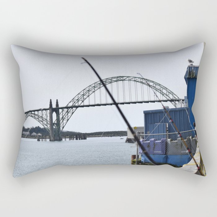 Bridge View  Rectangular Pillow