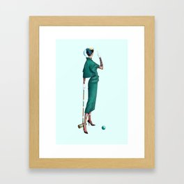 Croquet and Ink Four Framed Art Print