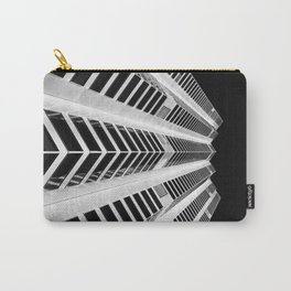 LOW ANGLE PHOTOGRAPHY OF HIGH RISE BUILDING-7 Carry-All Pouch
