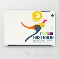 kangaroo iPad Cases featuring kangaroo by nuface