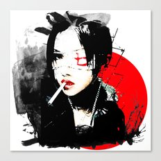 Shiina Ringo - Japanese singer Canvas Print