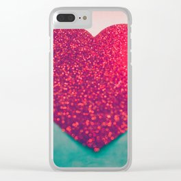 Burning love Clear iPhone Case