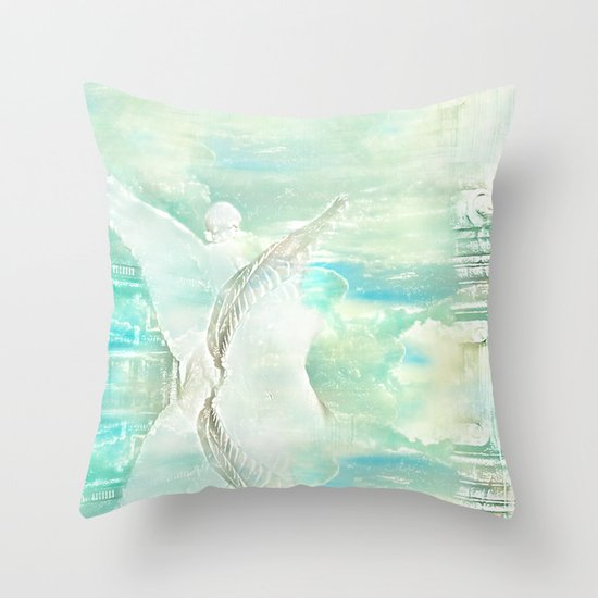 Sistine Sky Throw Pillow