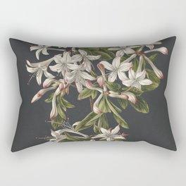 M. de Gijselaar - Branch of blooming azalea (1831) Rectangular Pillow