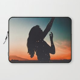 Reaching out Laptop Sleeve