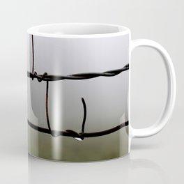 Fog and Fence Coffee Mug