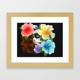 Day of the Hibiscus Framed Art Print