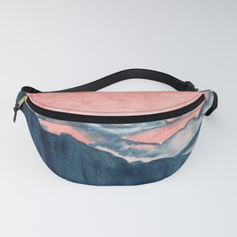 Moon in the Mountains Fanny Pack