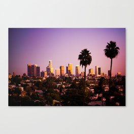 Silverlake Sunset Canvas Print