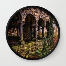 Abandoned Monastery Wall Clock