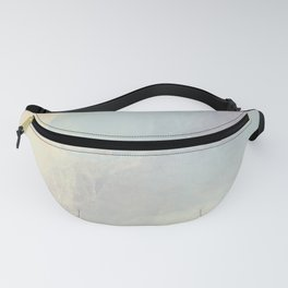 Iridescent Pastels - Innocent Soft Abstract Painting Fanny Pack