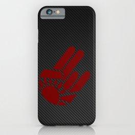 Rising Shocker Hand Carbon iPhone Case