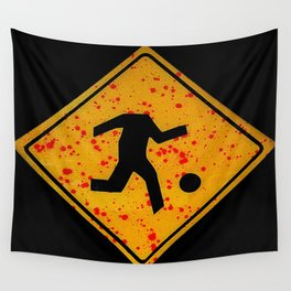 street signs against violence Wall Tapestry
