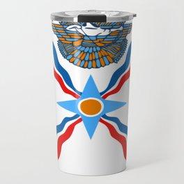 Assyrian Flag Travel Mug