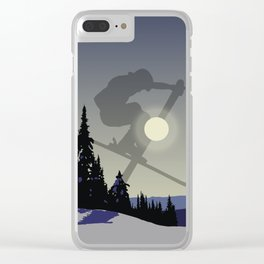 Touch The Morning Sun - Square | DopeyArt Clear iPhone Case