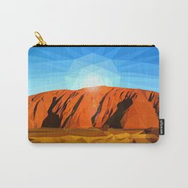 Uluru the Mighty Dreamer - Ayers Rock, Outback - Australia Carry-All Pouch