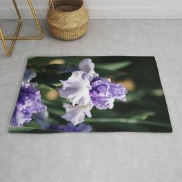 Lavender Iris Rug