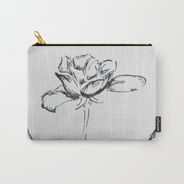 Fountain Pen Rose Carry-All Pouch