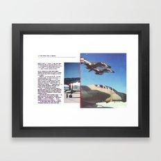 Planes # 13 Framed Art Print