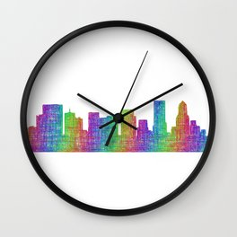 Portland Wall Clock