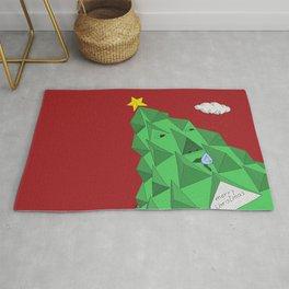 christmas pine Rug