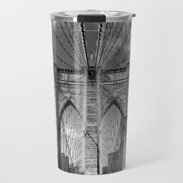 Brooklyn Bridge New York City Travel Mug