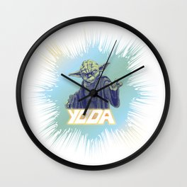 Yoda I am! Wall Clock