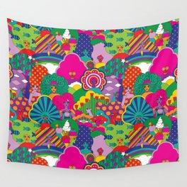 Girls Girls Girl Wall Tapestry
