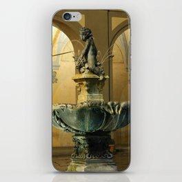 The Fountain - Prato - Tuscany iPhone Skin