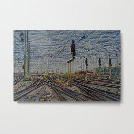 Leica Rail HDR Metal Print