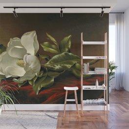 """""""Magnolia Grandiflora,"""" 1885 by Martin Johnson Heade Wall Mural"""